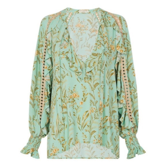 Spell & The Gypsy Collective Tops - Spell and the Gypsy Maise Blouse-L- NWT